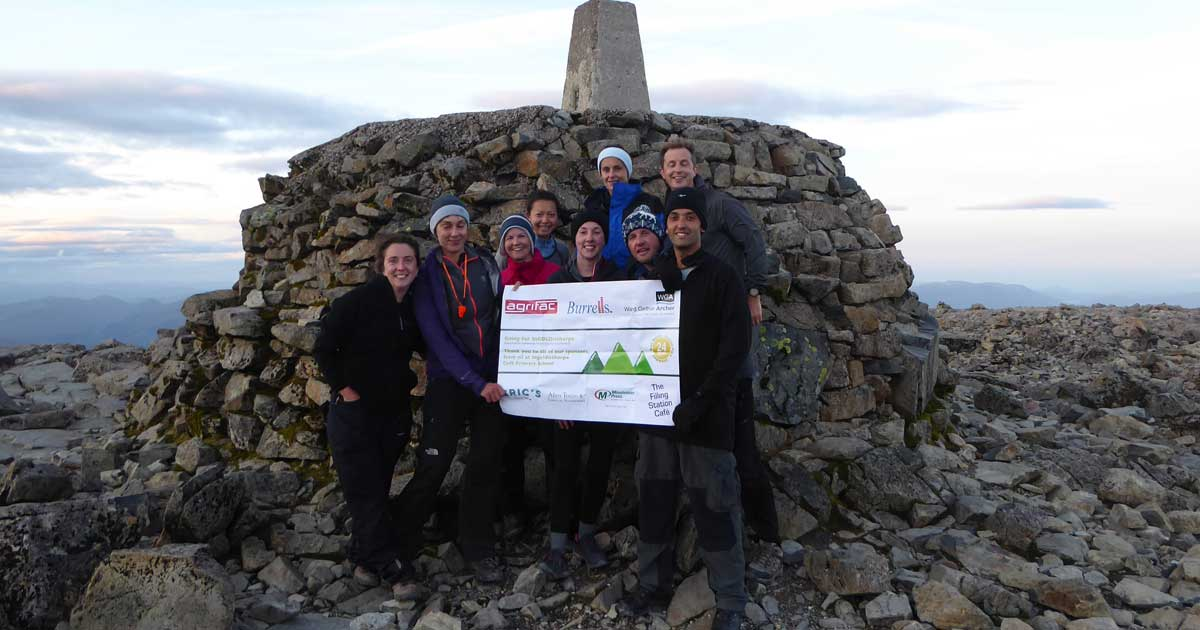 Conquering the 3 Peaks Challenge for Ingoldisthorpe Primary School