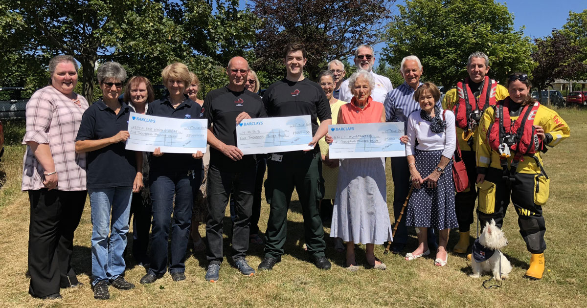 Shop donates £16,700 to local charities