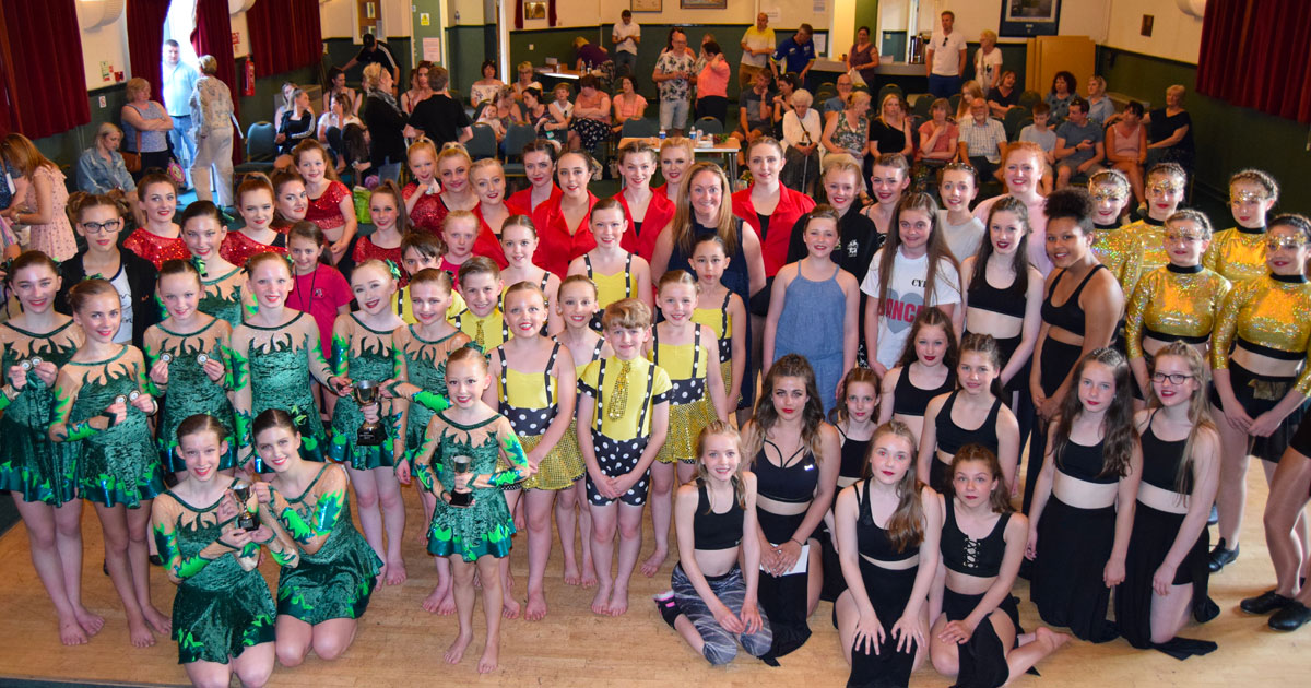 One hundred and eighty-seven dancers competed at the West Norfolk Dance Festival in Hunstanton at the weekend