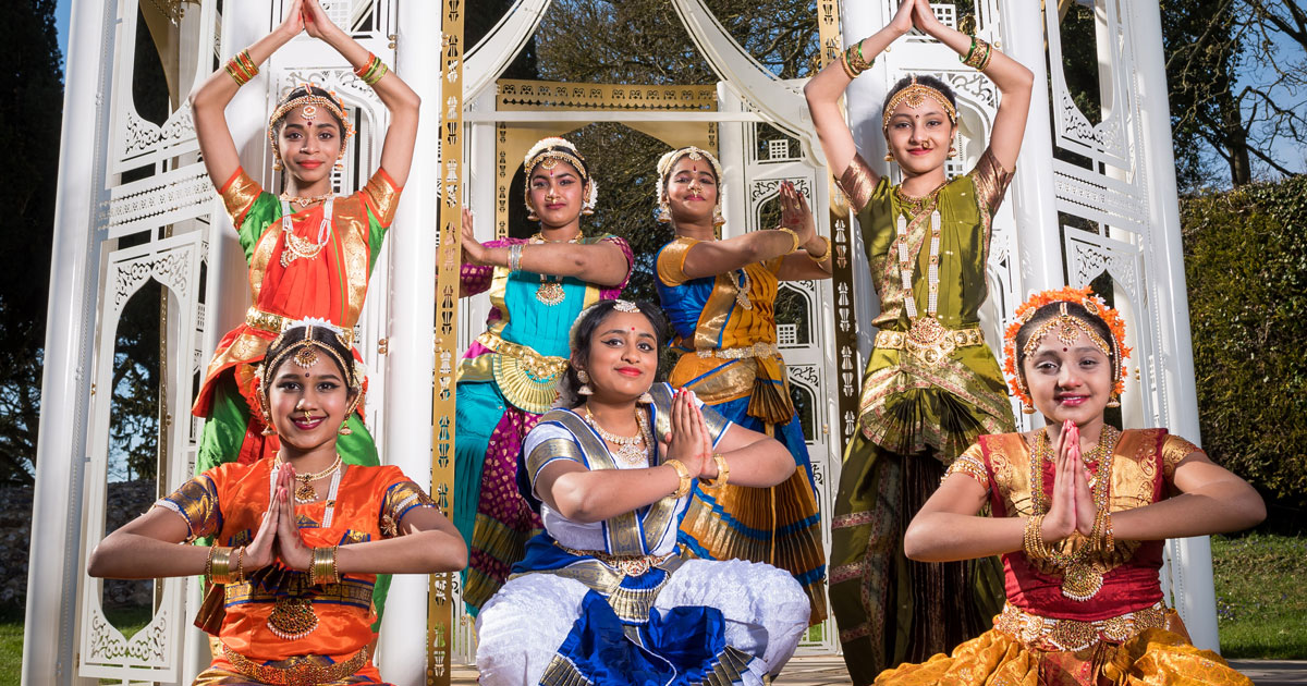 Local family business support King's Lynn based Indian classical dance academy at Chelsea Flower Show
