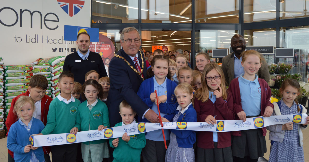 New Lidl store opens in Heacham