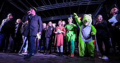 Festive fun at Hunstanton light switch-on