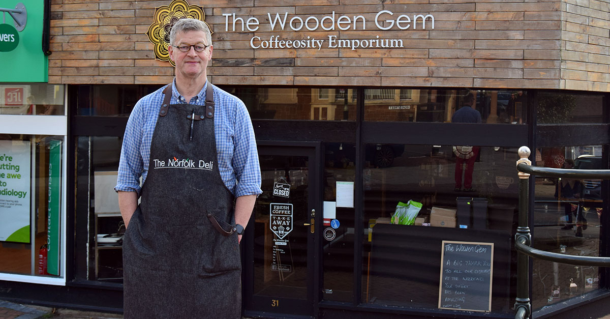 High street café venture for the Norfolk Deli owners