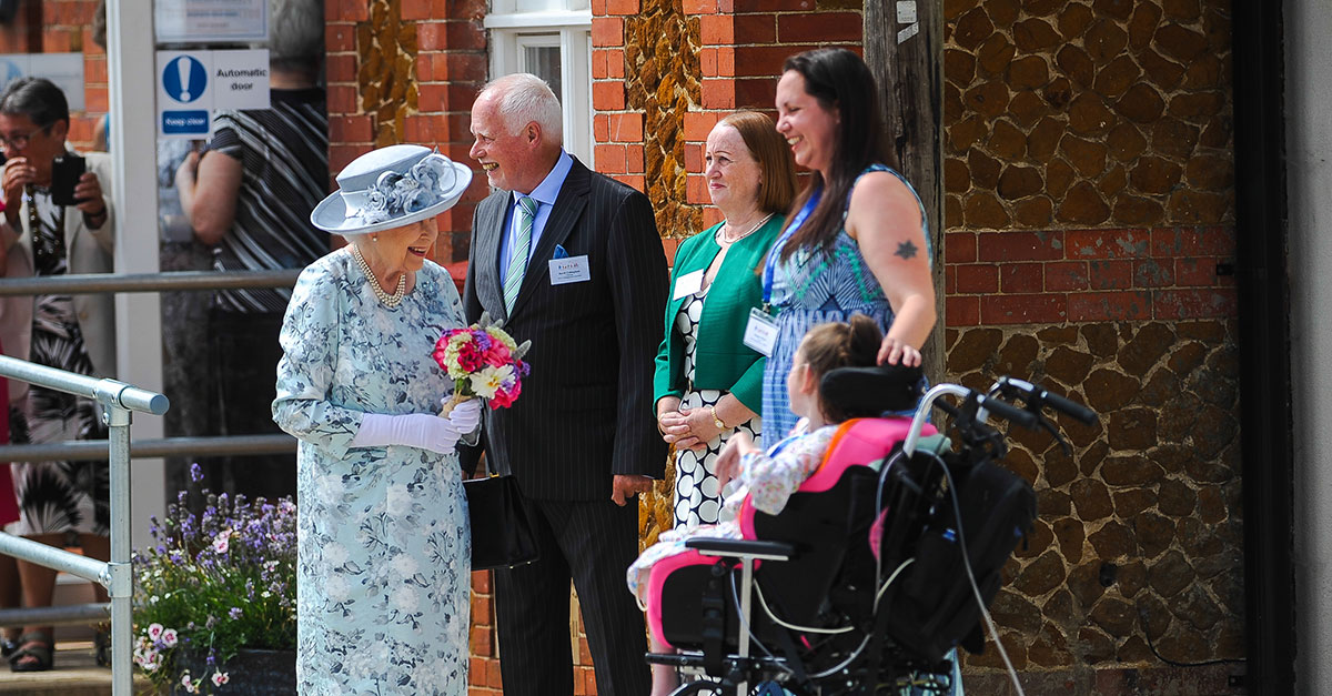 A royal surprise in Dersingham