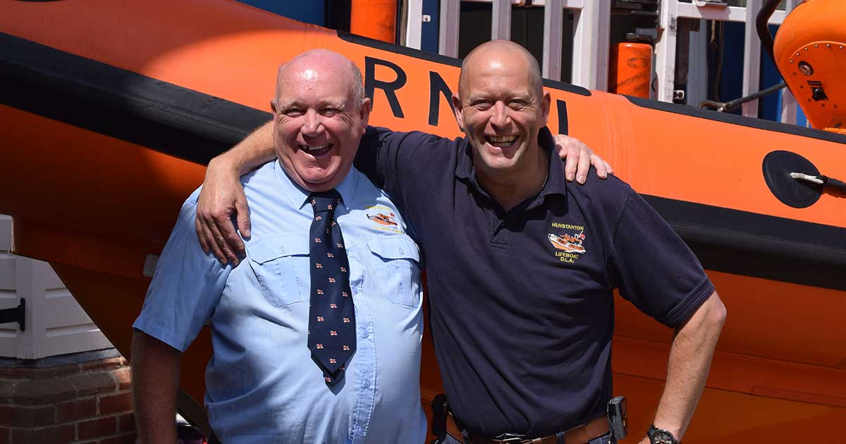 Saying goodbye and welcoming RNLI's new Lifeboat Operations Manager