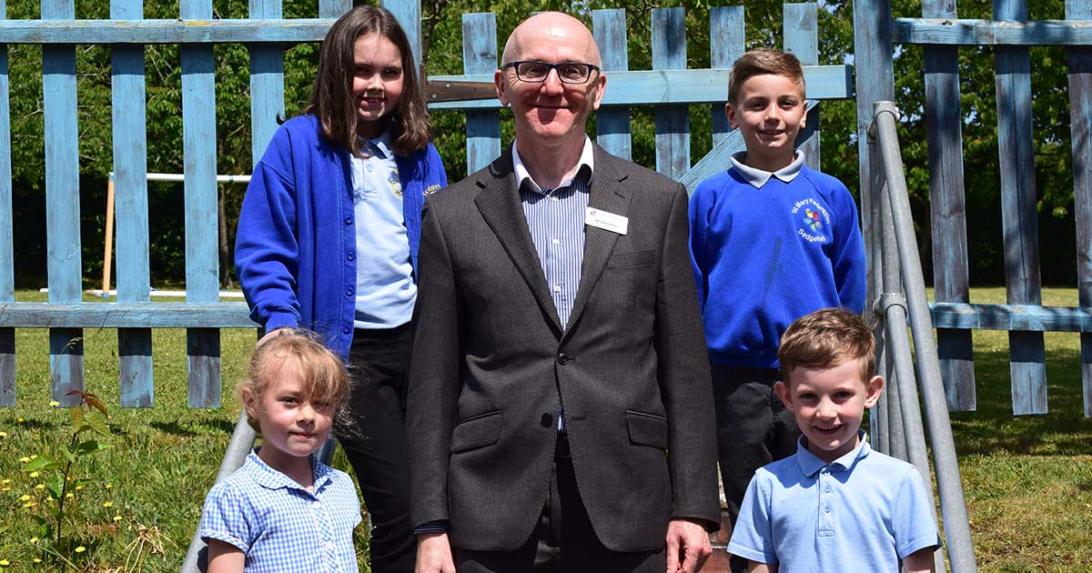 Introducing Gavin King, the new Executive Head of the St Mary Federation