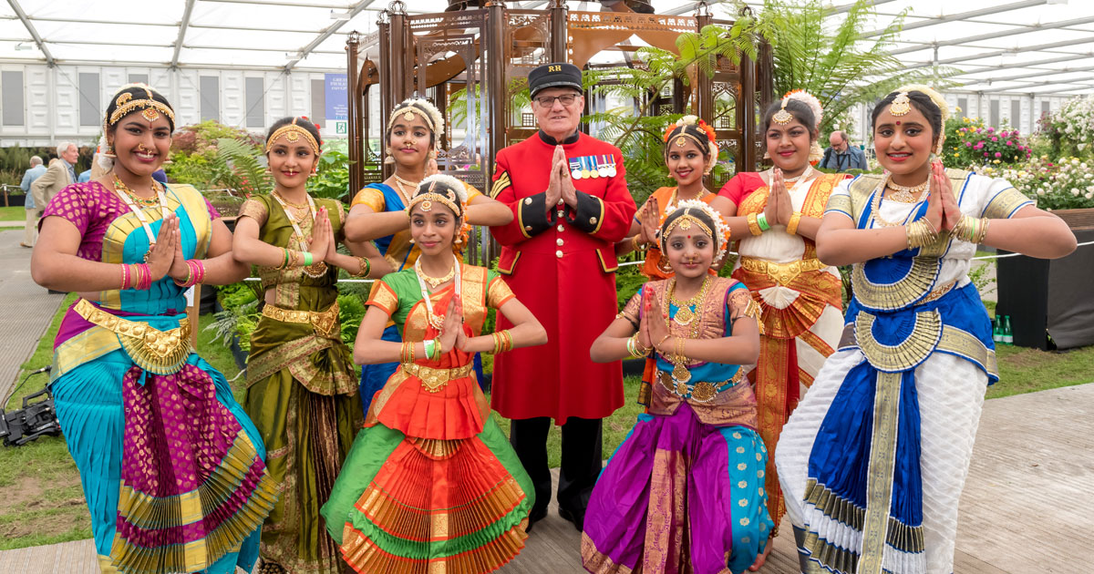 Rural Norfolk Dance Academy make International Headlines at the RHS Chelsea Flower Show