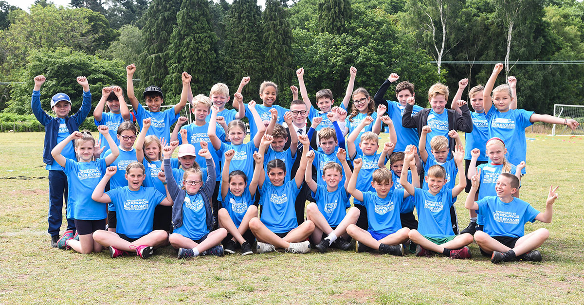 Smithdon cluster student led sports festival success