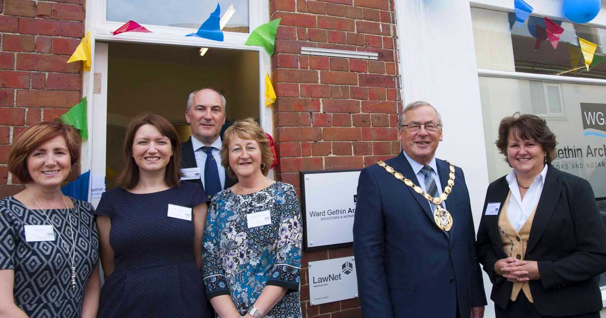 Mayor visits Ward Gethin Archer's Heacham office open day