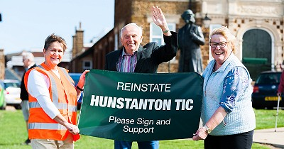 1,000 people support the re-instatement of Hunstanton's staffed TIC