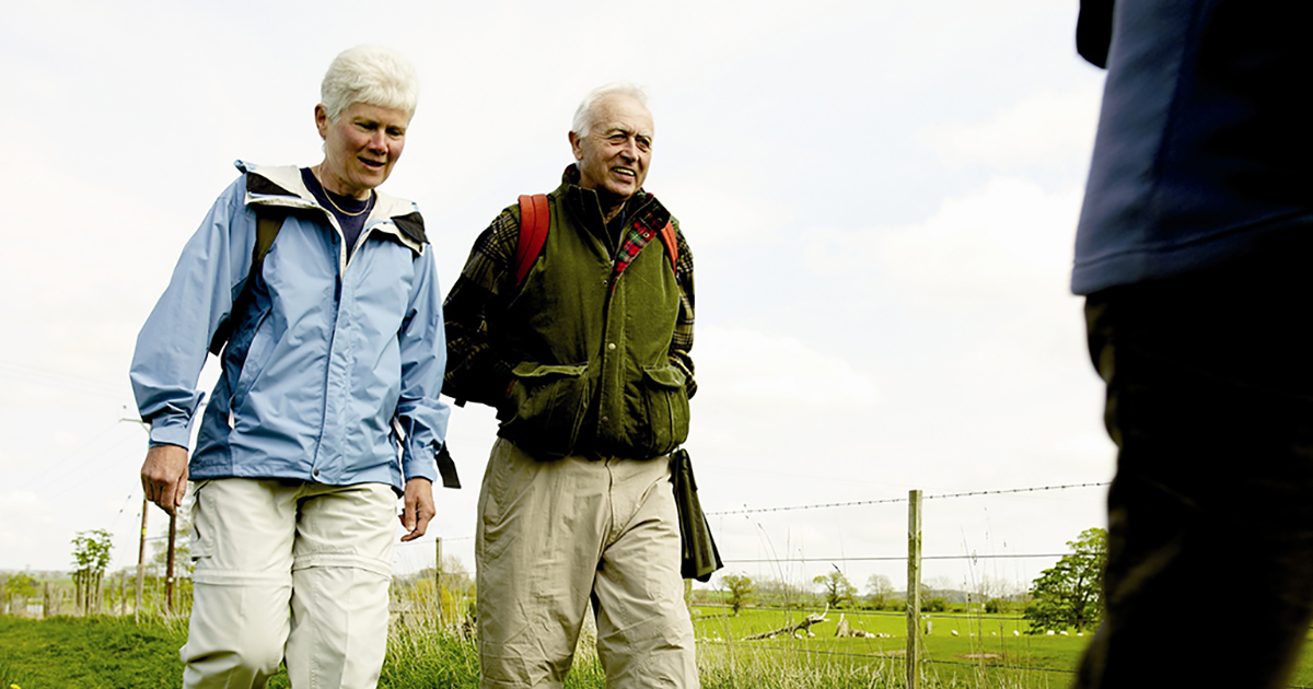 Dementia-friendly walks