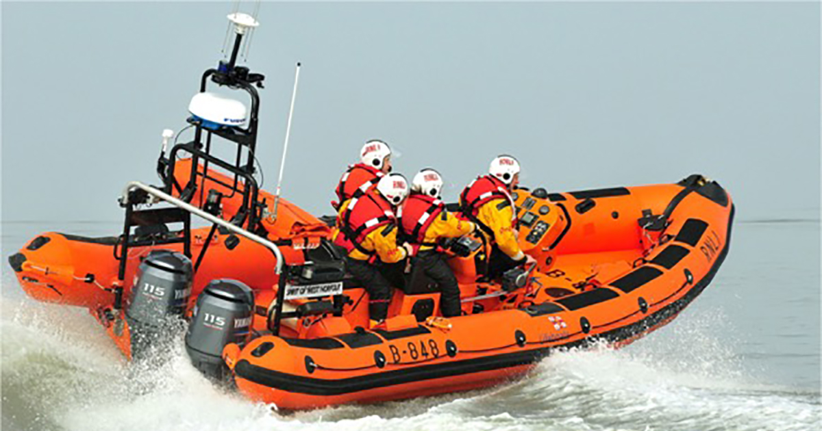 RNLI OPENS JUST GIVING PAGE FOR OLD HUNSTANTON TO ENCOURAGE ONLINE DONATIONS