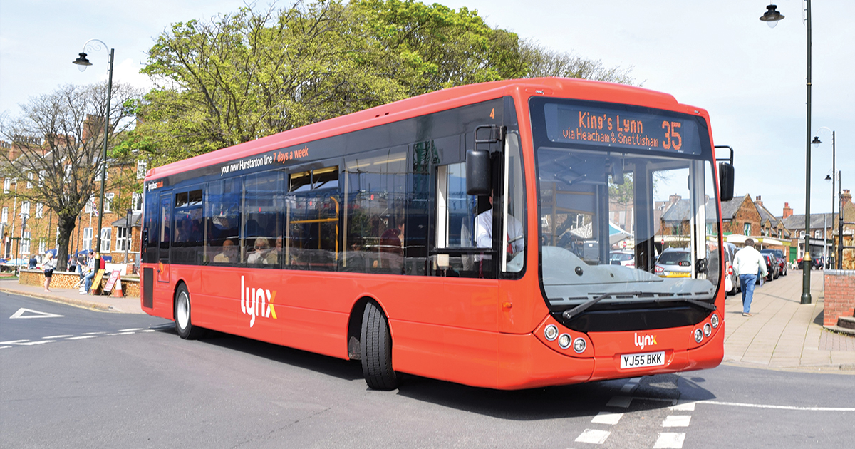 Lynx Bus Covid-19 timetables (Monday 30th March until further notice)